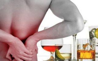 Болят почки после алкоголя — почему?