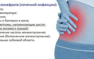 Пиелонефрит у женщин — причины, симптомы и лечение