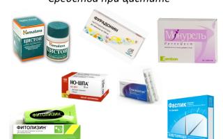 Препараты от цистита у женщин — какие лучше принимать для быстрого лечения