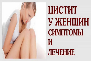 Обострение хронического цистита лечение препараты