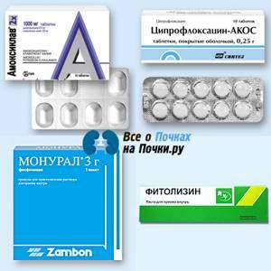 Какие антибиотики принимать при цистите и пиелонефрите