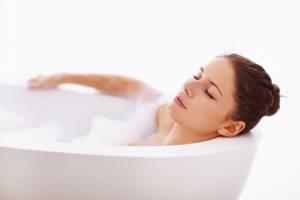При цистите ванна