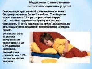 Приступ холецистита: симптомы, причины и лечение