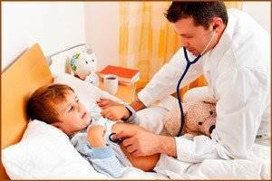 Гепатомегалия у ребенка – признак наличия негативных состояний