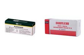 Аллохол или Панкреатин, что лучше – зависит от клинической картины