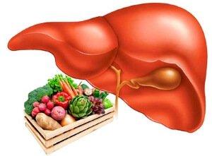 Диета при заболевании печени и желчного пузыря как основа терапии