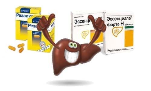 Резалют Про или Эссенциале Форте: что лучше действует на печень