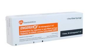 Энджерикс – вакцина, защищающая от вируса гепатита в любом возрасте